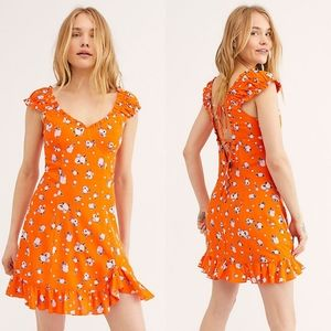 NWT Free People Like A Lady Mini Dress
